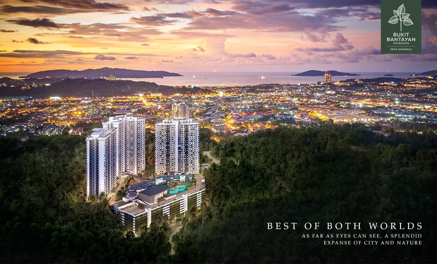 Bukit Bantayan Aerial View