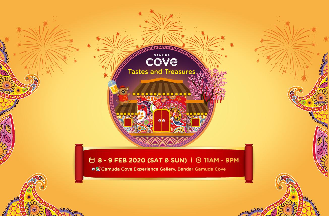 Tastes & Treasures | Gamuda Cove