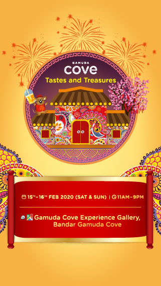 Tastes & Treasures | Gamuda Cove