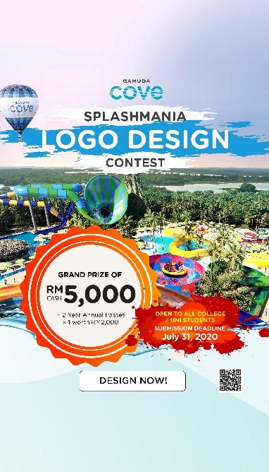 Splashmania Logo Contest | Gamuda Cove
