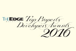 The Edge Malaysia Top Property Developers Awards 2016