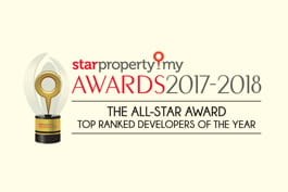 starproperty.my Awards 2017-2018 | The All-Star Award Top Ranked Developers Of The Year