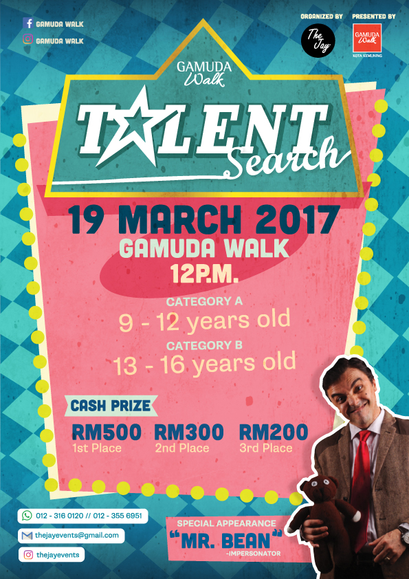 gamuda-walk-talent-search-flyer