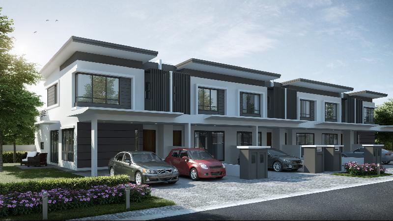 Kundang Estates提倡现代化乡村田园生活。