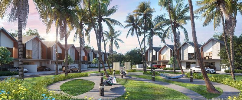 毗邻淡水湿地和森林保护区Gamuda Cove是共聚天伦的理想家园。