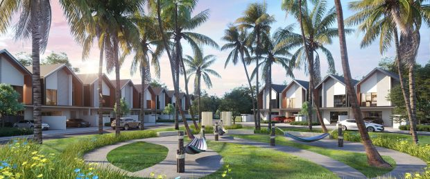 Palma Sands tropical-inspired homes at Gamuda Cove comes under the GL HOME scheme.
