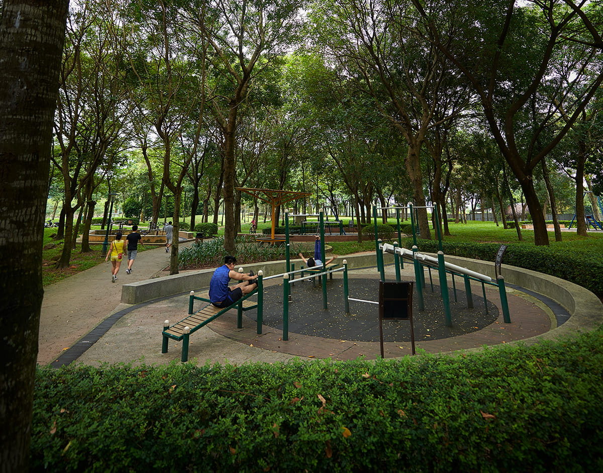 A well-planned recreational spot in Central Park, the star attraction of the sustainable Celadon City.