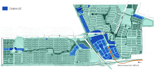 MASTER SITE PLAN - COMMERCIAL