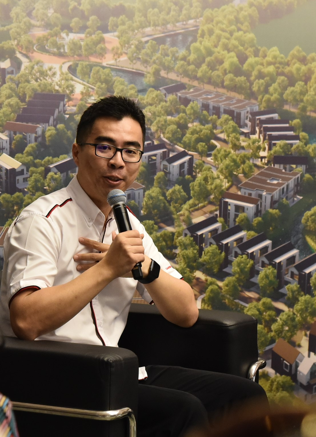 Aw says there are plans to develop a 20ha area for signature lifestyle water homes