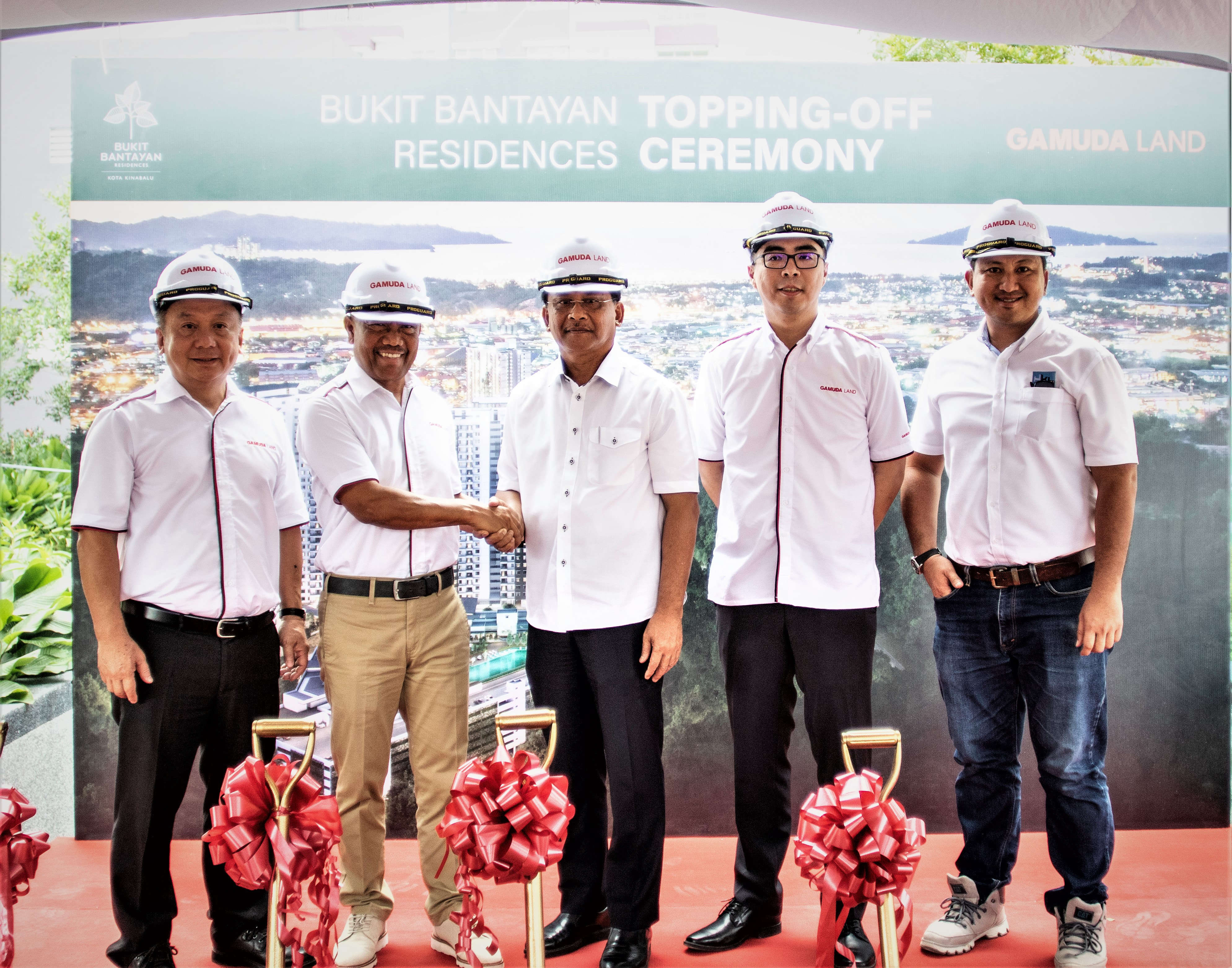 Gamuda Land tops off the final two towers of Bukit Bantayan Residences 6 months ahead of schedule