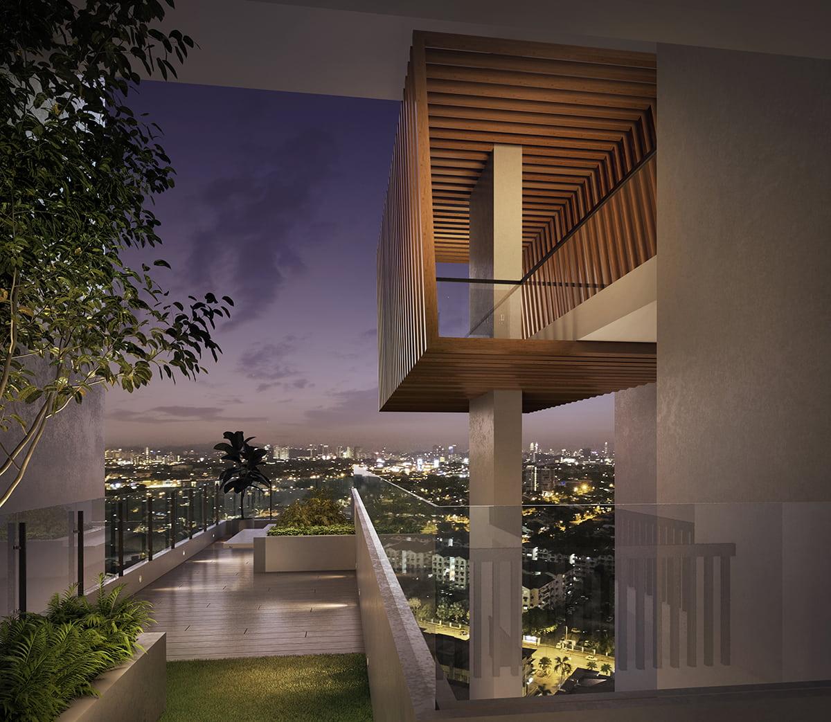HighPark Suites' Sky Garden