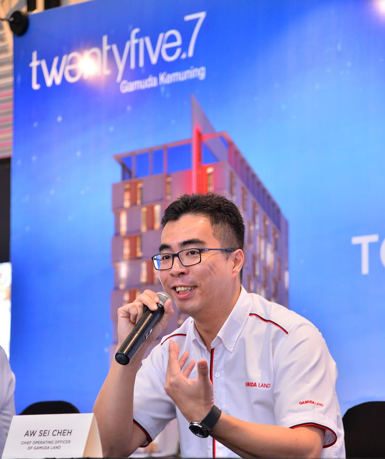 Aw: Gamuda Land is looking at a long-term partnership with Shopee, which is also Malaysia's No 1 online shopping platform, to feature our property to a wider group of audience