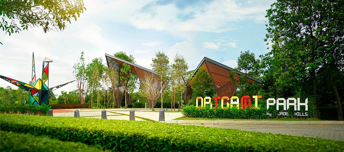 The Origami Park in Jade Hills is now open