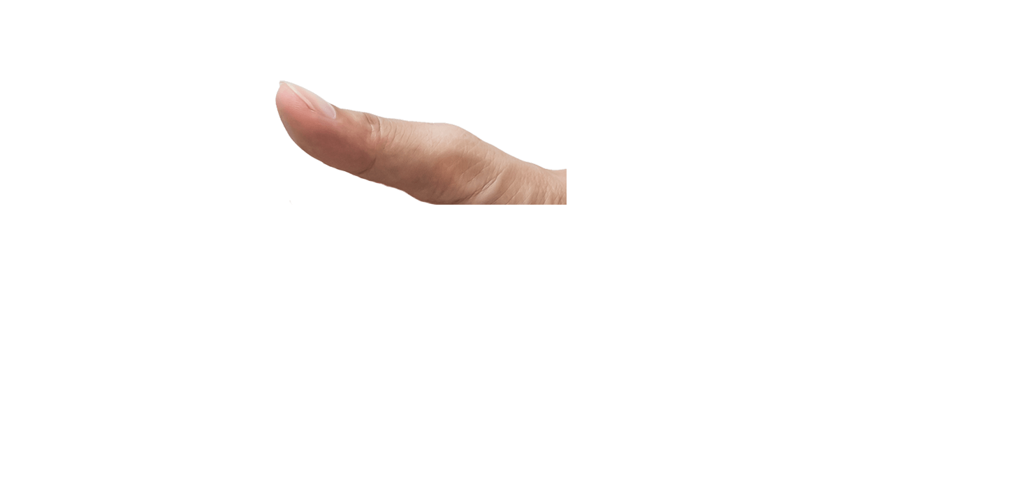 Left Side Hand Thumb Overlay
