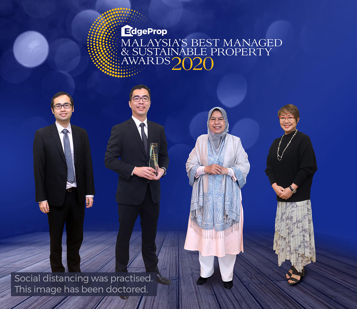 From left: EdgeProp Malaysia director of business and product development Alvin Ong, Gamuda Land Bhd COO Aw Sei Cheh, Housing and Local Government Minister Zuraida Kamaruddin and EdgeProp Malaysia editor-in- chief and managing director Au Foong Yee.