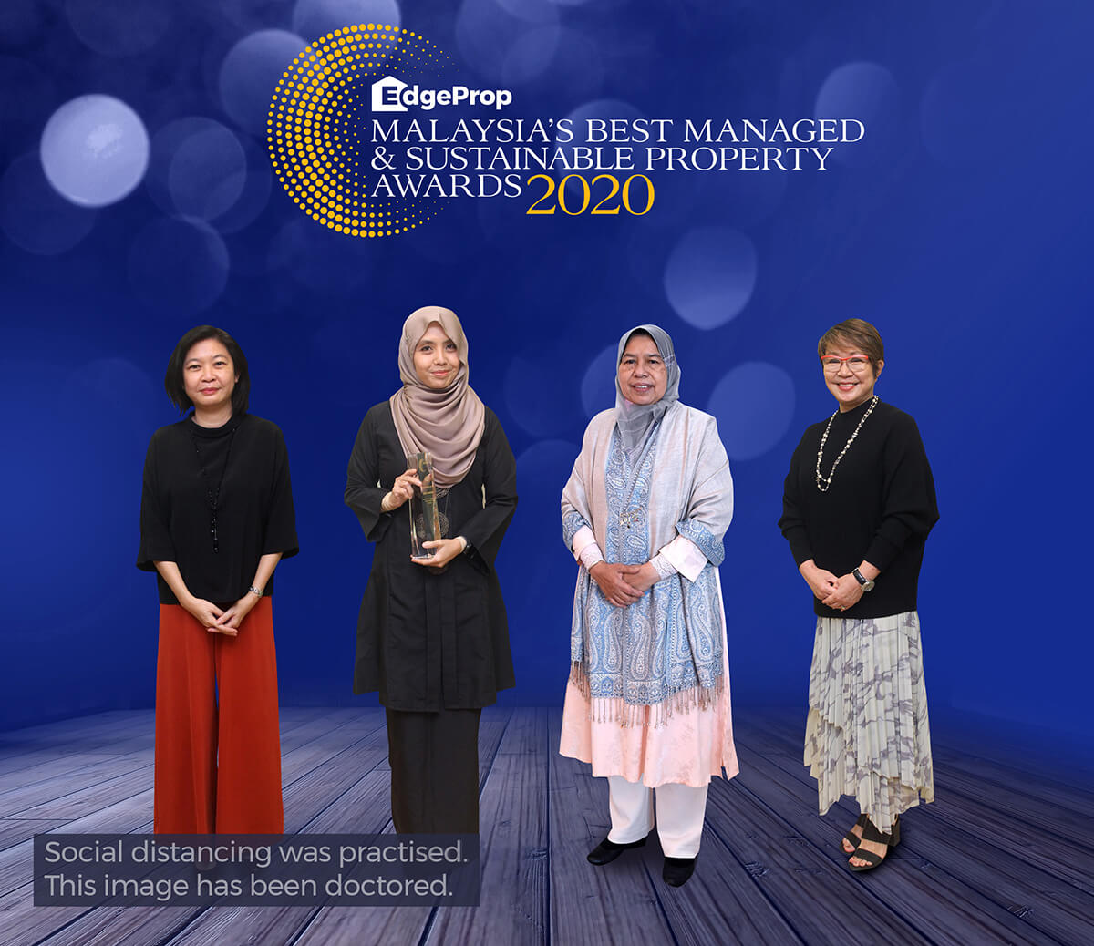 From left: EdgeProp Malaysia executive editor Sharon Kam, Khariza, Housing and Local Government Minister Zuraida Kamaruddin and EdgeProp Malaysia editor-in-chief and managing director Au Foong Yee.
