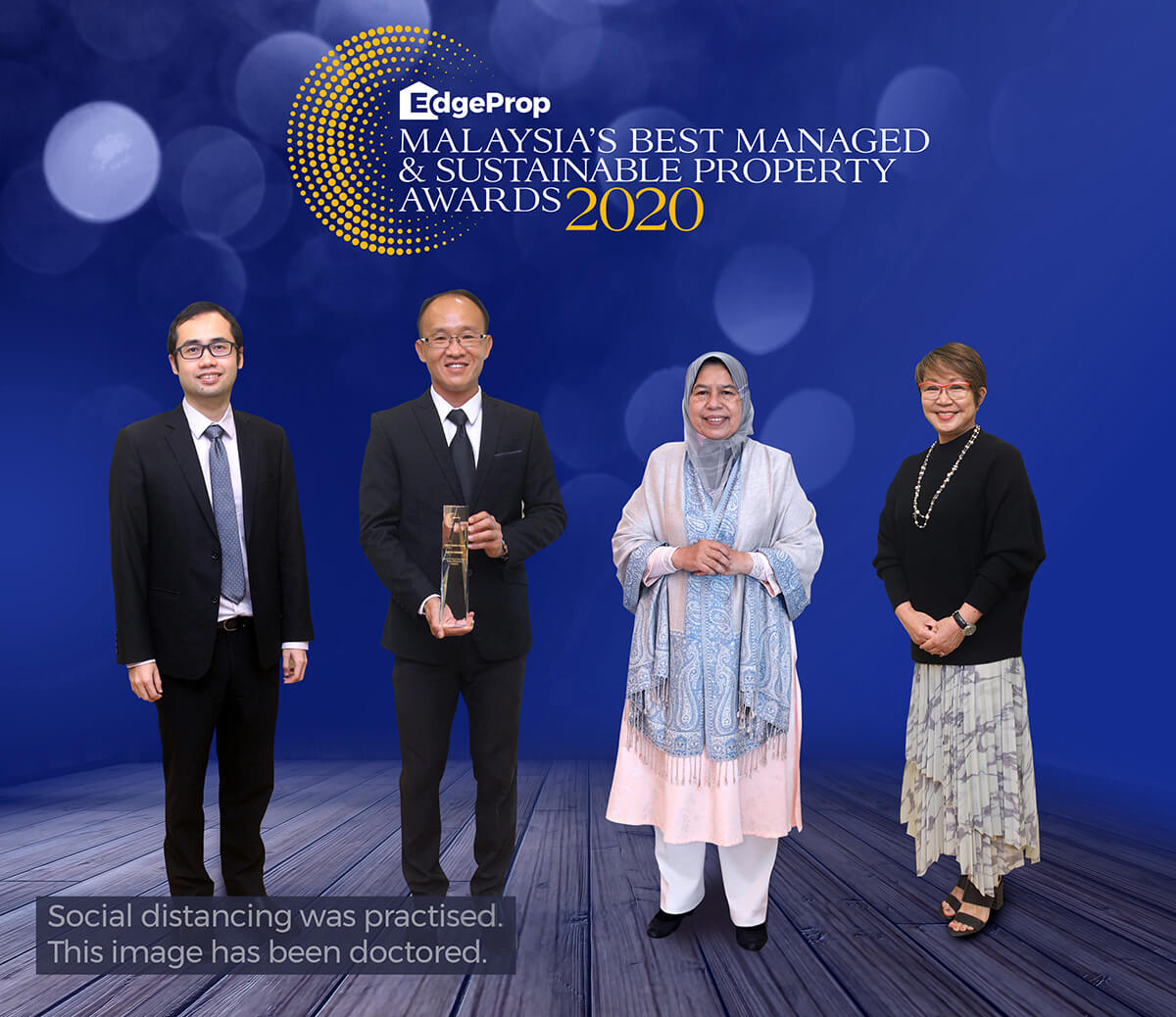 From left: EdgeProp Malaysia director of business and product development Alvin Ong, Tay, Housing and Local Government Minister Zuraida Kamaruddin, EdgeProp Malaysia editor-in-chief and managing director Au Foong Yee.