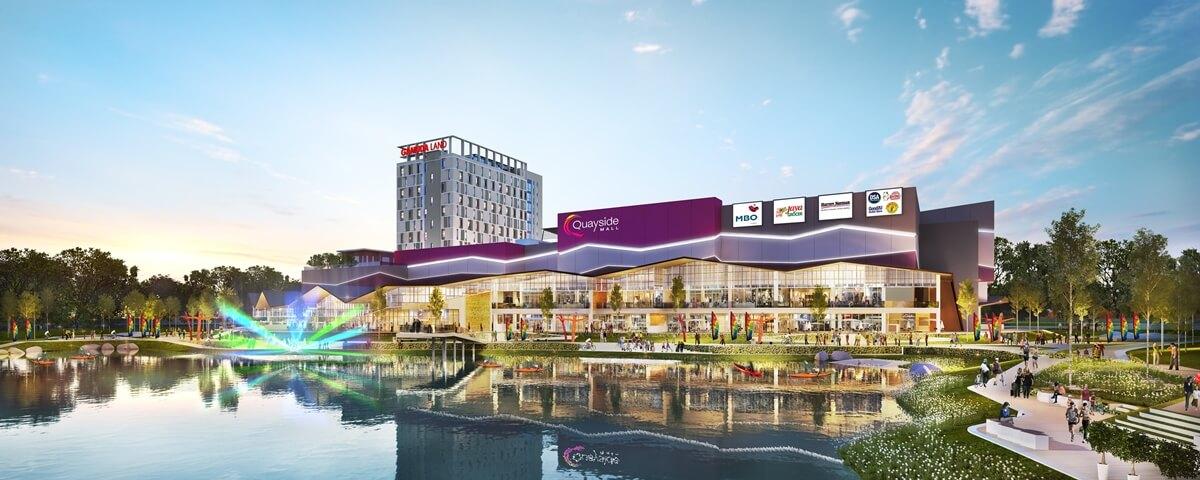 即将入驻Quayside Mall的商店与品牌包括Jaya Grocer、Harvey Norman、MBO电影院以及日本卡拉OK连锁集团Karaoke Manekineko等。(图片来源:Quayside Mall脸书)