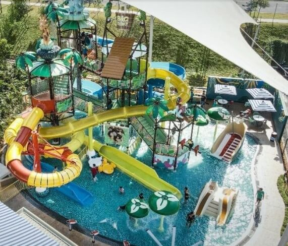 The Big Bucket Splash neighbourhood waterpark is the latest attraction in Gamuda Gardens