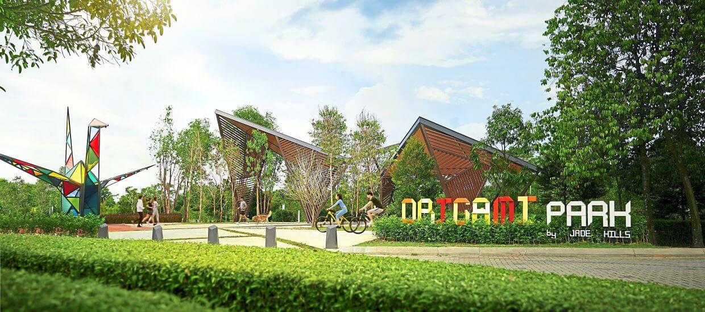 Jade Hills' Origami Park.