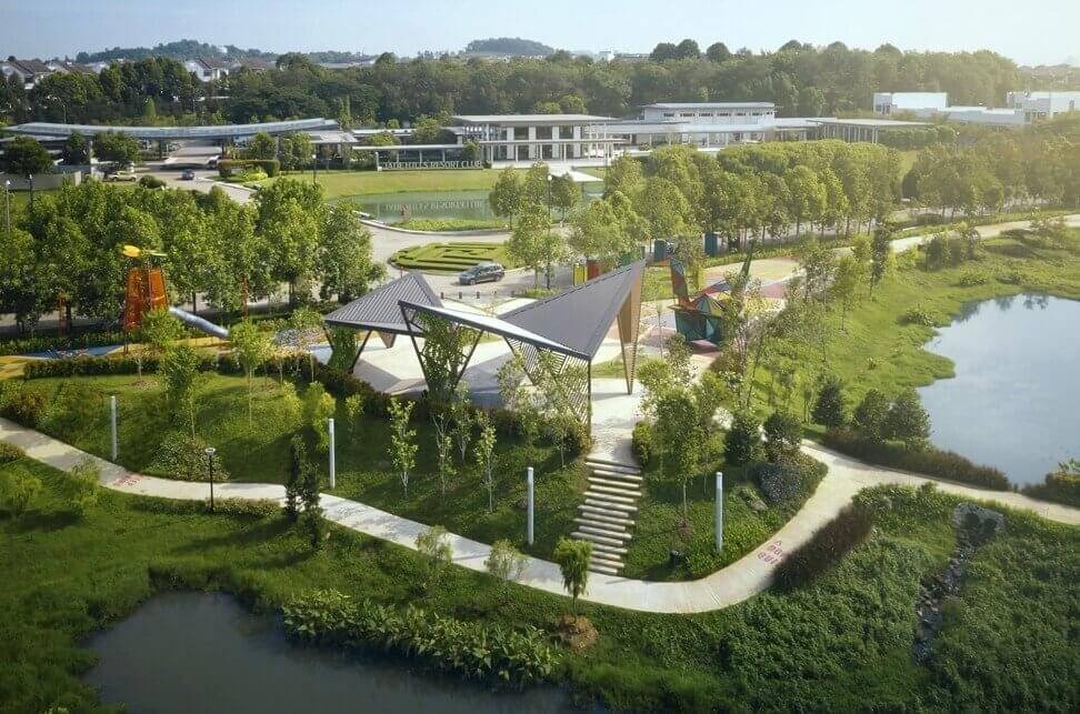 The mindful town-making approach adopted by Gamuda Land, including creating parks and outdoor play areas, ensures that residents in its developments are never far from nature.