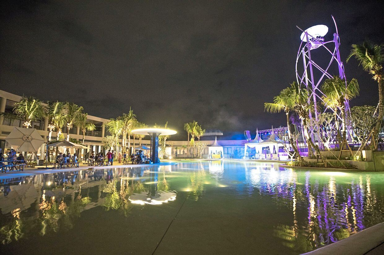 The 9.3ha Discovery Park is one of the places that offer many leisure activities at Gamuda Cove.