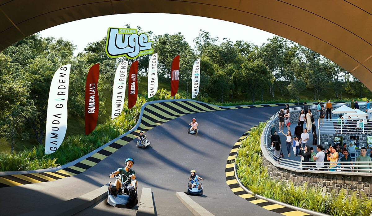 Skyline Luge, the global thrill ride for all ages will be coming to Gamuda Gardens City Centre.