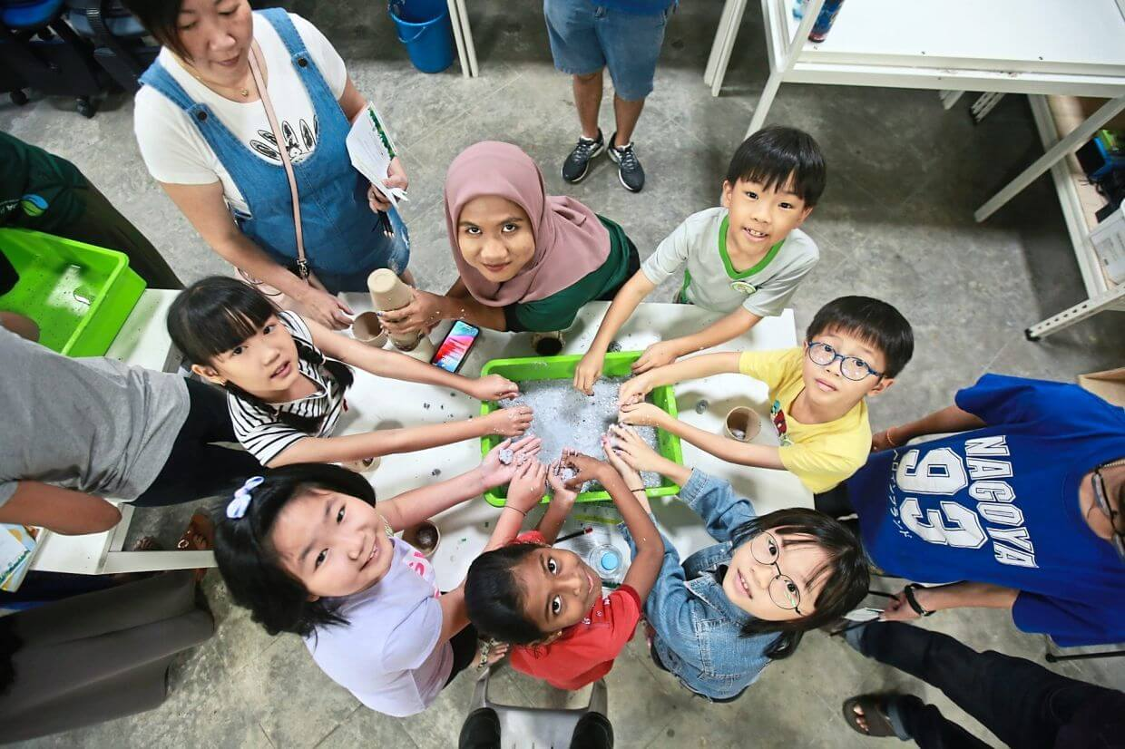 Gamuda Land holds monthly workshops to instill environmental sensitivity in the next generation.