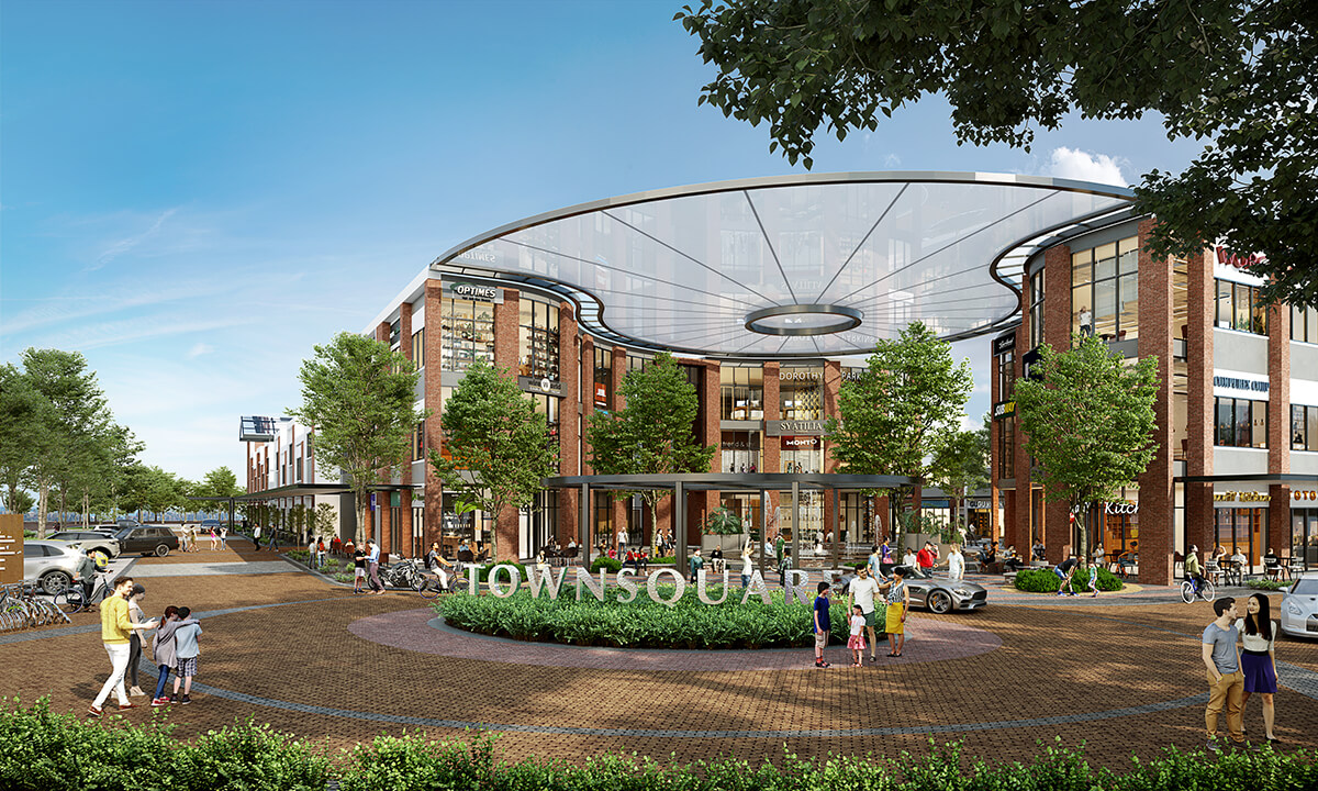 Gamuda Cove's Townsquare is set for launch in December 2020.