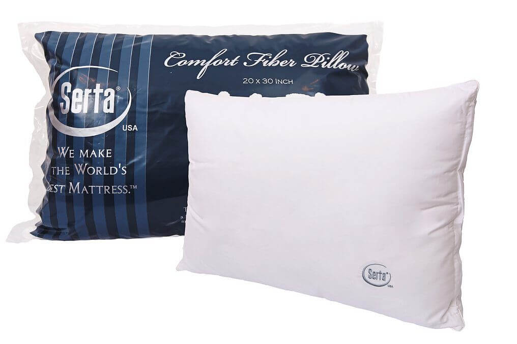 Treat your head and shoulders right with a Serta fibre pillow, available for just RM19, limited to the first 50 customers only.