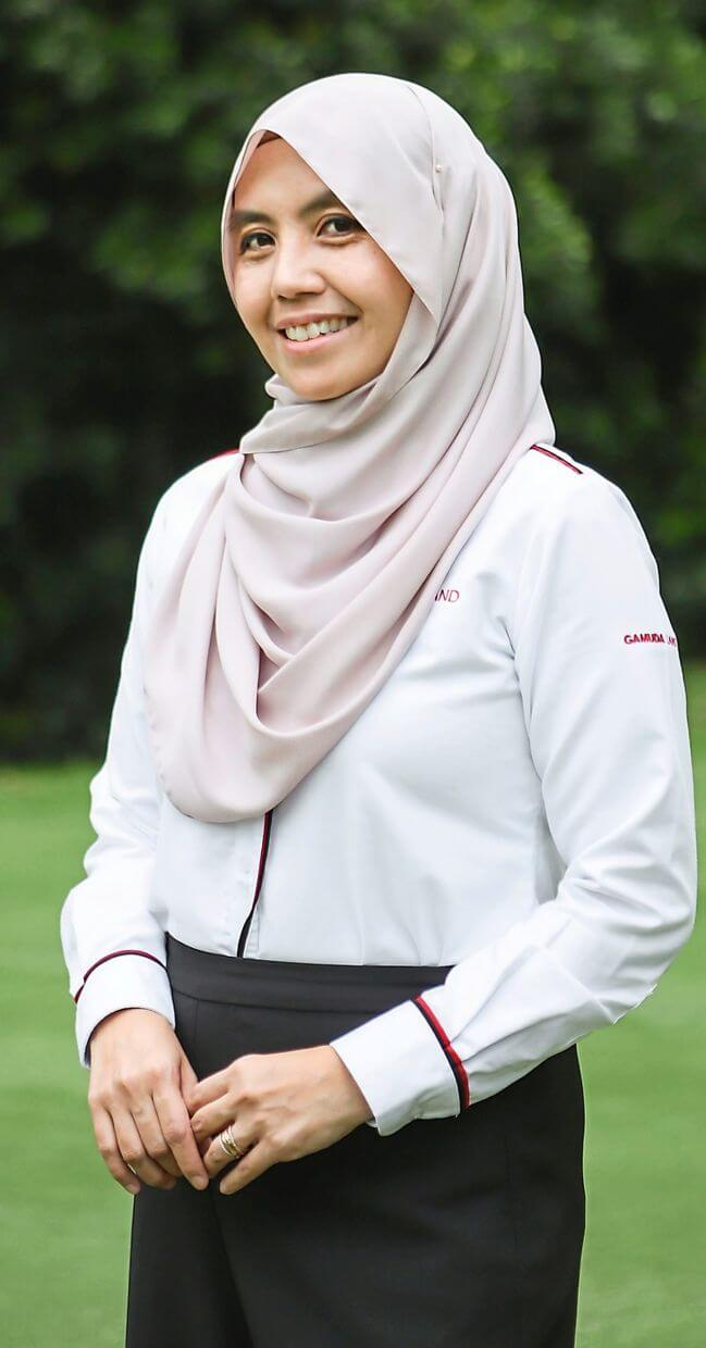 The greenery in the parks and along the roads will mimic the structure of a natural forest. This will make our developments' streets cooler and more comfortable for pedestrians while facilitating the movement of biodiversity like butterflies and birds. - Khariza Abd Khalid, Gamuda Parks COO, Gamuda Land head of landscape architecture