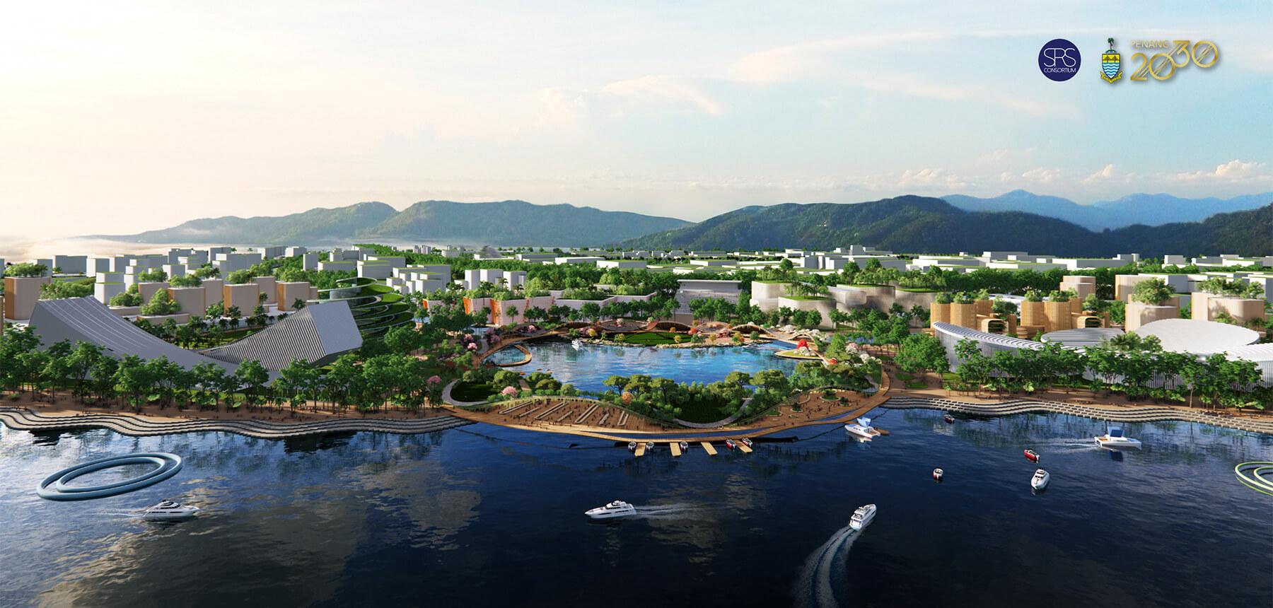 Penang South Island