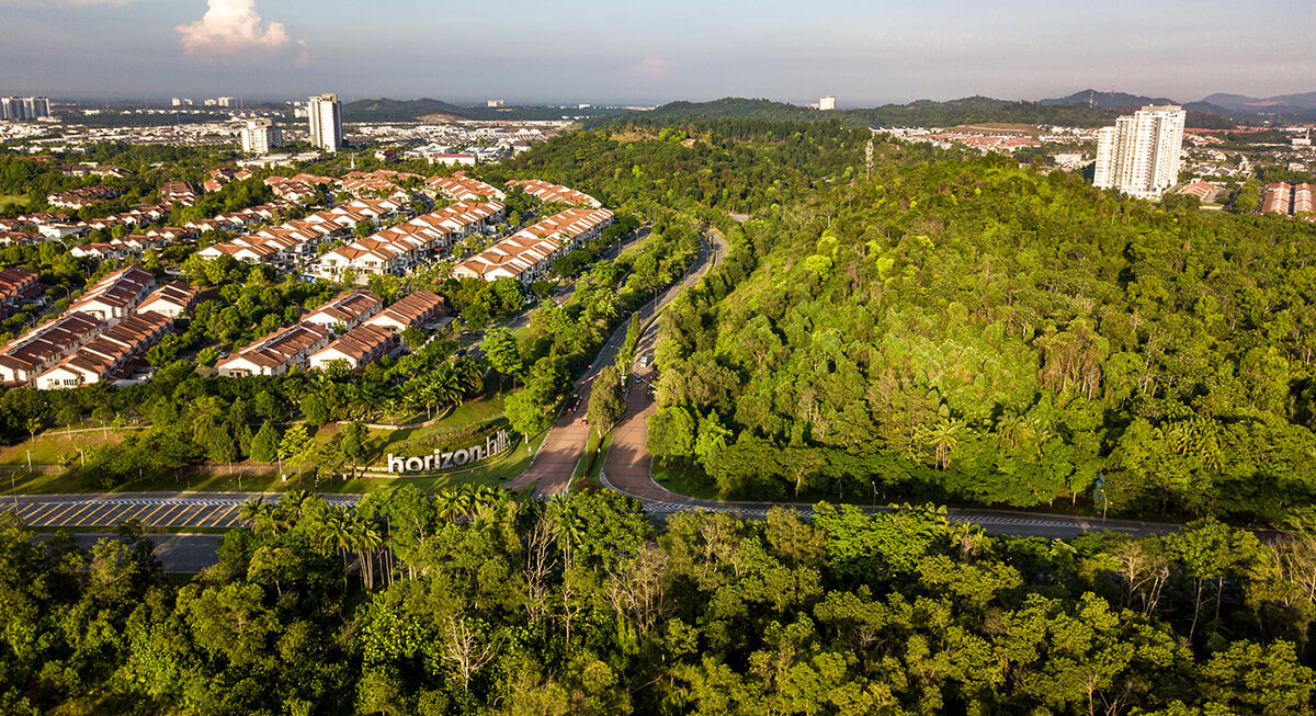 The Miyawaki technique encourages plants to grow up to 10 times faster by creating competitive environments for seedlings, as seen in Horizon Hills, Iskandar Puteri.